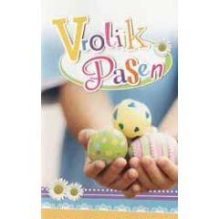 paaskaart - vrolijk pasen - paaseieren