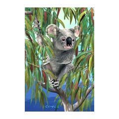3d ansichtkaart - lenticulaire kaart - koala