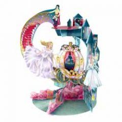 3d wenskaart - pendulum - assepoester cinderella