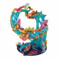 3d kaart - pendulum - bloemen