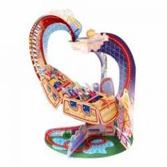 3d kaart - pendulum - achtbaan - roller coaster