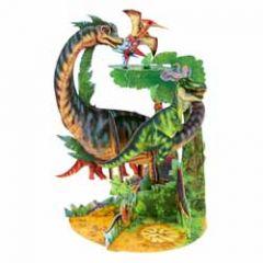 3d kaart - pendulum - dinosaurus