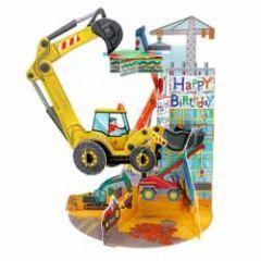 3d verjaardagskaart - pendulum - happy birthday - graafmachine