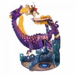 3d kaart - pendulum - draak en ridder