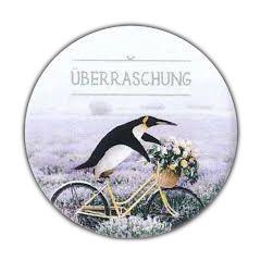 koelkastmagneet pickmotion - überraschung - pinguin
