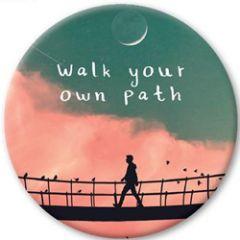 koelkastmagneet pickmotion - walk your own path