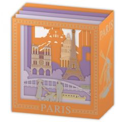 3d kaart - pop up laser - paris