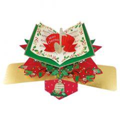 3D kerstkaart - pop ups - merry christmas jingle bells
