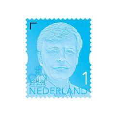 Koning Willem Alexander 1: velletje met 10 postzegels