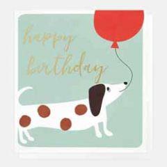 verjaardagskaart caroline gardner - happy birthday - tekkel