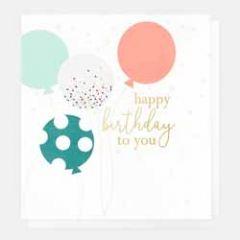 verjaardagskaart caroline gardner - happy birthday to you - ballonnen