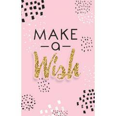 wenskaart - make a wish