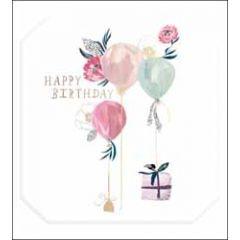 verjaardagskaart the proper mail company - happy birthday - ballonnen