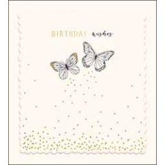 verjaardagskaart the proper mail company - birthday wishes- vlinders