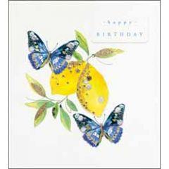 verjaardagskaart the proper mail company - happy birthday - vlinders