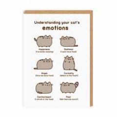 wenskaart pusheen - understanding your cat's emotions