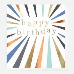 wenskaart caroline gardner - happy birthday