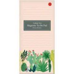 magnetisch notitieblok - memopad  - roger la borde - joshua tree - cactussen