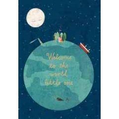 geboortekaart roger la borde - welcome to the world little one