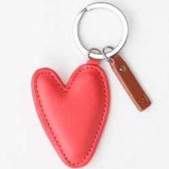 Hart sleutelhanger van Caroline Gardner. Ook goed te gebruiken als tashanger. Het hart is 7 cm lang.