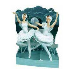 3D kaart - swing cards - ballet