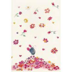 bullet journal A5 - schriftje klara de kraai - bloemenregen