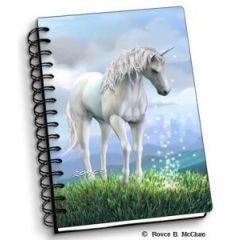 notitieboek 3D - eenhoorn