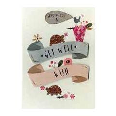 beterschapskaart - sending you a get well wish