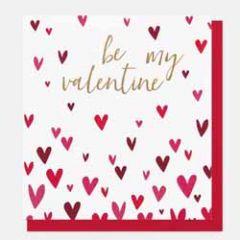 valentijnskaart caroline gardner - be my valentine