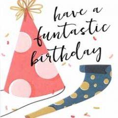 verjaardagskaart caroline gardner - screenprint -  have a fantastic birthday