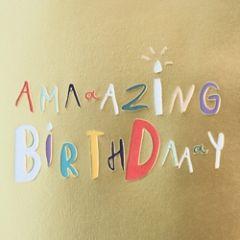 verjaardagskaart caroline gardner - super duper - amazing birthday