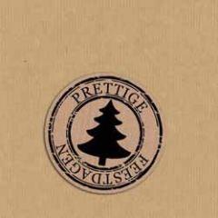 sluitstickers - sluitzegels - kerstboom - prettige feestdagen