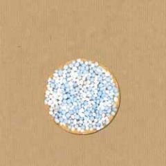 grote sluitstickers - sluitzegels - blauwe muisjes