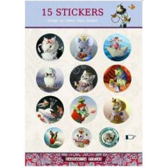 stickervel met 15 stickers van gwenaëlle trolez