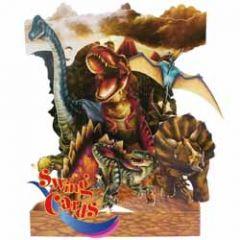 3D kaart - swing cards - dinosaurus