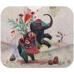 ansichtkaart met envelop - tv kaart - olifant