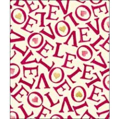 grote valentijnskaart woodmansterne - emma bridgewater - love love
