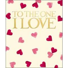 grote valentijnskaart woodmansterne - emma bridgewater - to the one i love