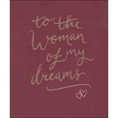 grote valentijnskaart woodmansterne - to the man of my dreams