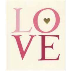 grote valentijnskaart woodmansterne - emma bridgewater - love