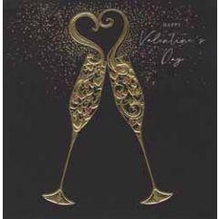 luxe valentijnskaart woodmansterne - happy valentine's day