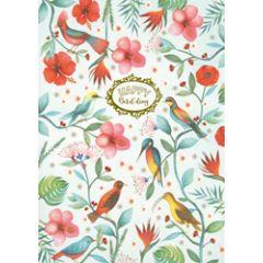 grote verjaardagskaart A4 - mila - happy bird day - vogels