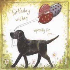 verjaardagskaart alex clark - birthday wishes - labrador