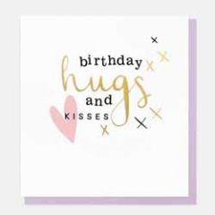 verjaardagskaart caroline gardner - birthday hugs and kisses