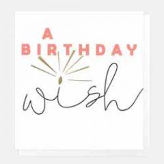 verjaardagskaart caroline gardner - a birthday wish