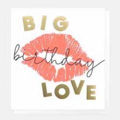 verjaardagskaart caroline gardner - big birthday love