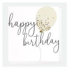verjaardagskaart caroline gardner - happy birthday - ballon