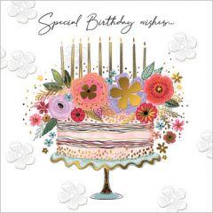verjaardagskaart second nature - special birthday wishes... - taart
