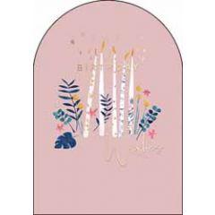 verjaardagskaart woodmansterne amelie - birthday wishes - kaarsen
