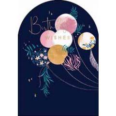 verjaardagskaart woodmansterne amelie - birthday wishes - ballonnen